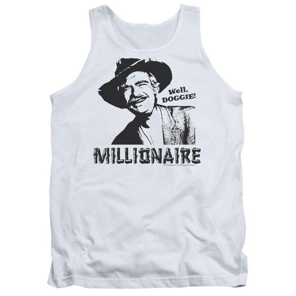 Beverly Hillbillies Millionaire - Adult Tank - White