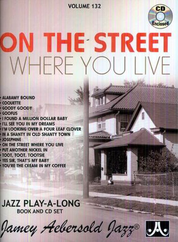 On The Street Where You Live (W/Book)