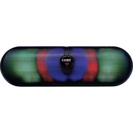 Coby CSBT-332 Light Up Portable Bluetooth Stereo Speaker