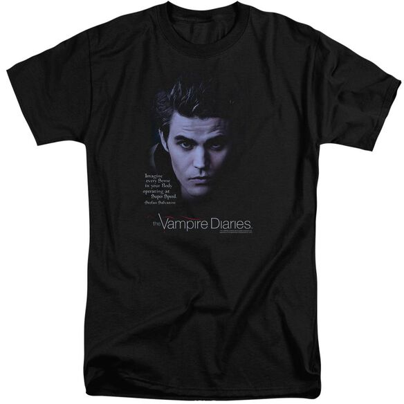 Vampire Diaries Sense Your Body Short Sleeve Adult Tall T-Shirt
