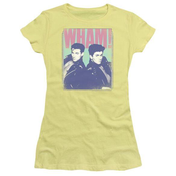Wham Fantastic Wham Short Sleeve Junior Sheer T-Shirt
