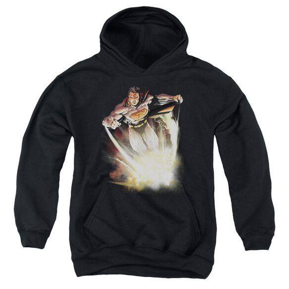 Superman Explosive Youth Pull Over Hoodie