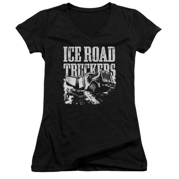 Ice Road Truckers Break The Ice Junior V Neck T-Shirt