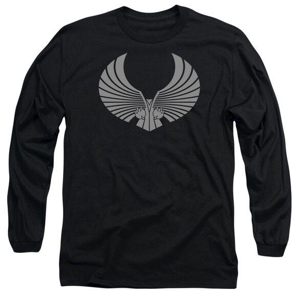 Star Trek Romulan Logo Long Sleeve Adult T-Shirt