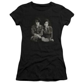 John Lennon Beret Short Sleeve Junior Sheer T-Shirt
