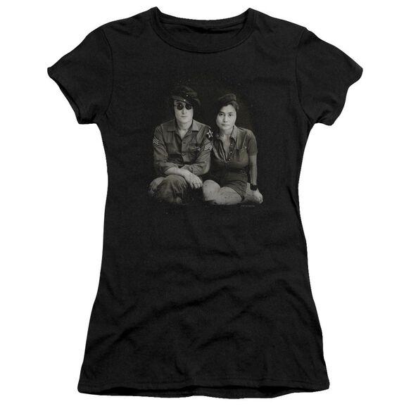 John Lennon Beret Short Sleeve Junior Sheer T-Shirt
