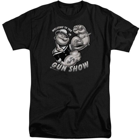 Popeye Gun Show Short Sleeve Adult Tall T-Shirt