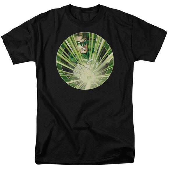 Green Lantern Light Em Up Short Sleeve Adult T-Shirt