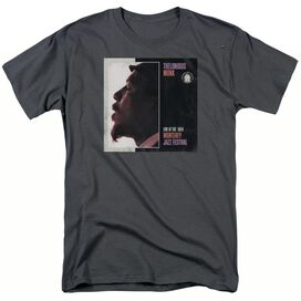 THELONIOUS MONK MONTEREY - S/S ADULT 18/1 - CHARCOAL T-Shirt