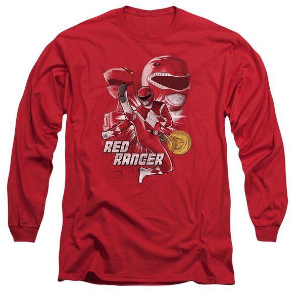 Power Rangers Ranger Long Sleeve Adult T-Shirt