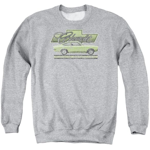 Chevrolet Vega Car Of The Year 71 Adult Crewneck Sweatshirt Athletic
