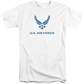 Air Force Distressed Logo Short Sleeve Adult Tall T-Shirt
