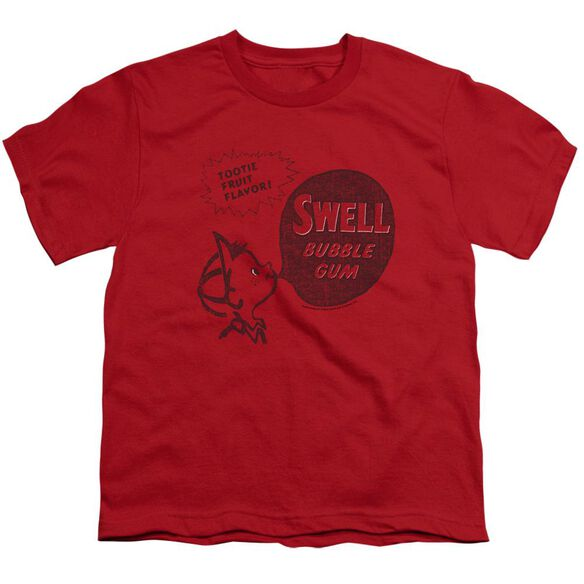 Dubble Bubble Swell Gum Short Sleeve Youth T-Shirt