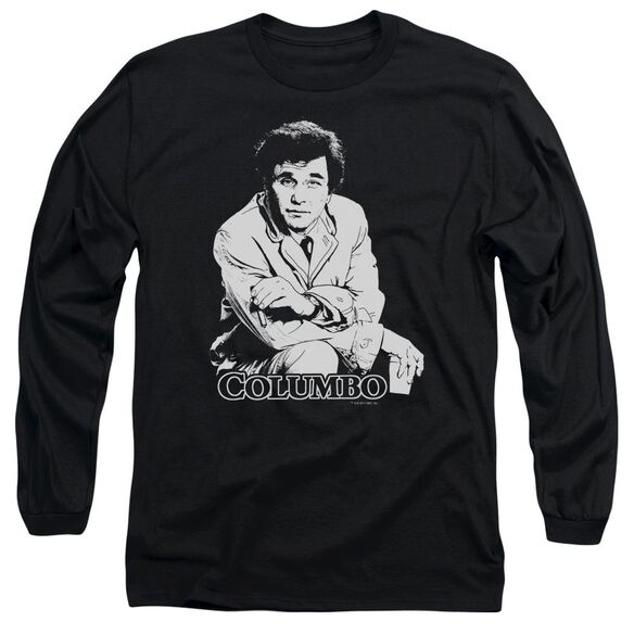 Columbo Title Long Sleeve Adult T-Shirt