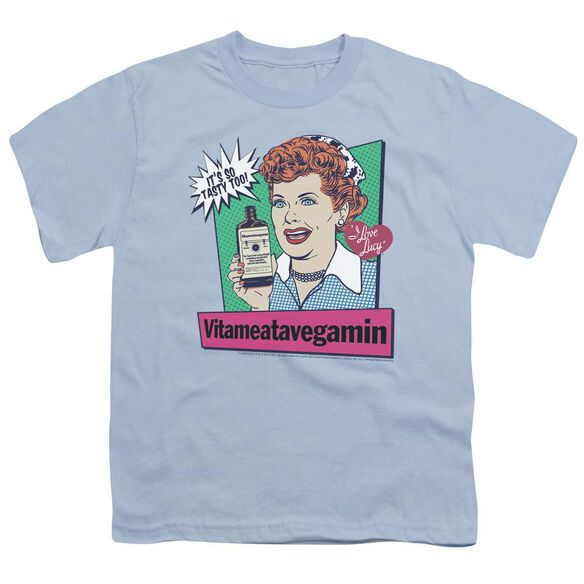 I Love Lucy Vita Comic Short Sleeve Youth Light T-Shirt