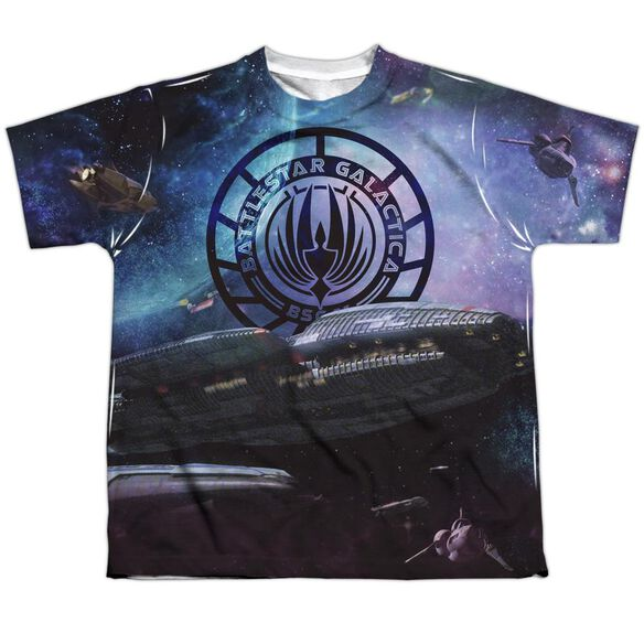 Bsg (New) Star Crusing Short Sleeve Youth Poly Crew T-Shirt