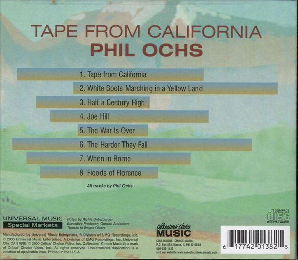 Tape From California 1100