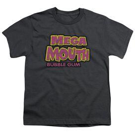 DUBBLE BUBBLE MEGA MOUTH - S/S YOUTH 18/1 - CHARCOAL T-Shirt