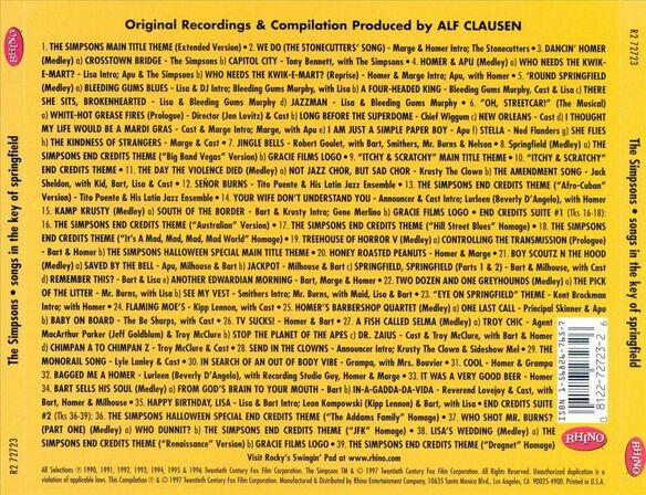 Simpsos Songs In 397