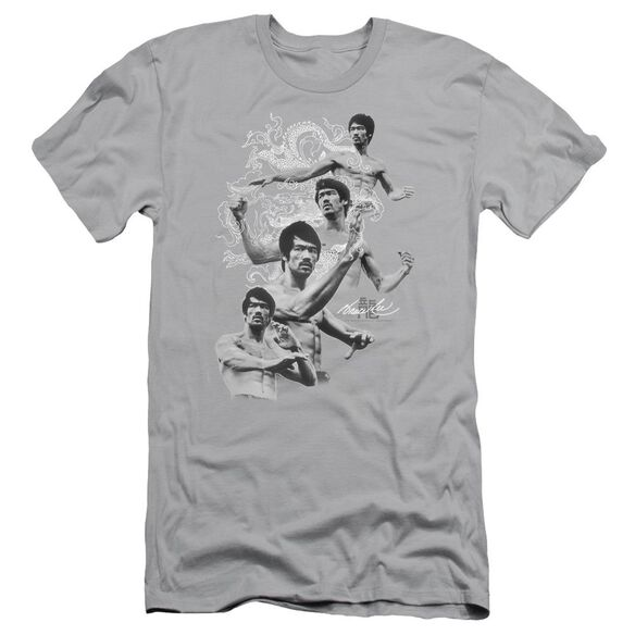 Bruce Lee In Motion Short Sleeve Adult T-Shirt