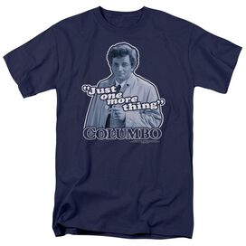 Columbo Just One More Thing Short Sleeve Adult T-Shirt