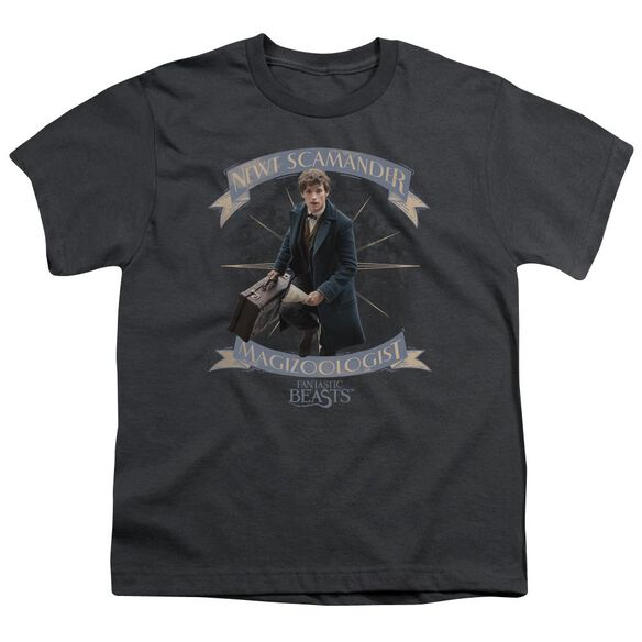 Fantastic Beasts Newt Scamander Short Sleeve Youth T-Shirt