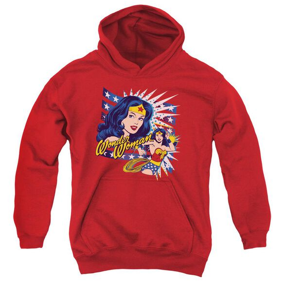 Dco Pop Art Wonder Youth Pull Over Hoodie