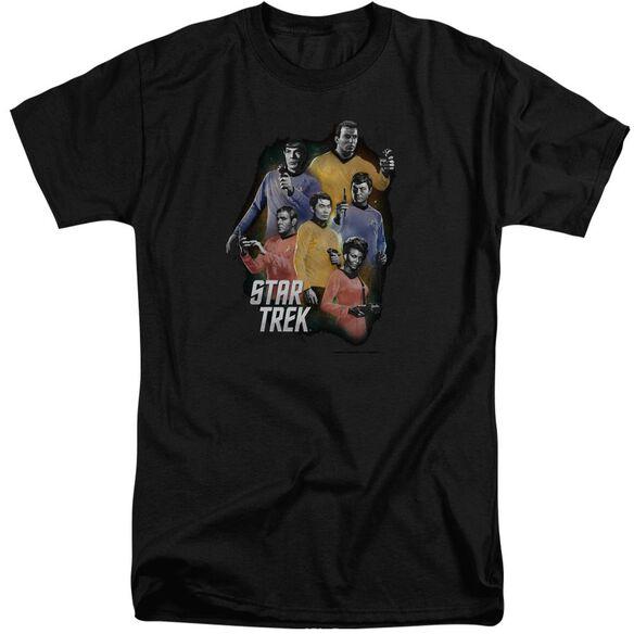 Star Trek Galaxy Glow Short Sleeve Adult Tall T-Shirt