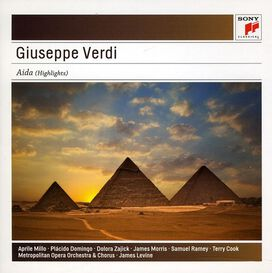 Verdi/ Millo/ Metropolitan Opera Orch/ Levine/ - Aida Highlights