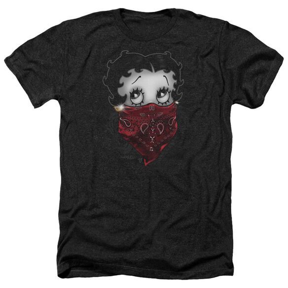 Betty Boop Bandana & Roses Adult Heather