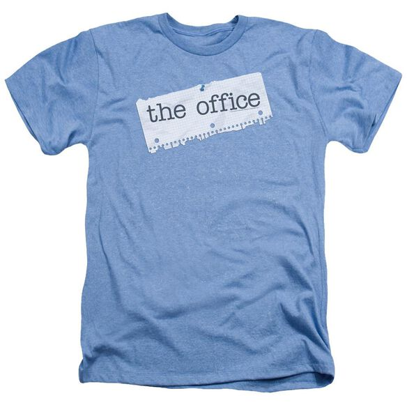 The Office Paper Logo Adult Heather Light