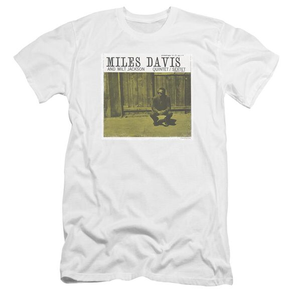 Miles Davis Miles And Milt Premuim Canvas Adult Slim Fit