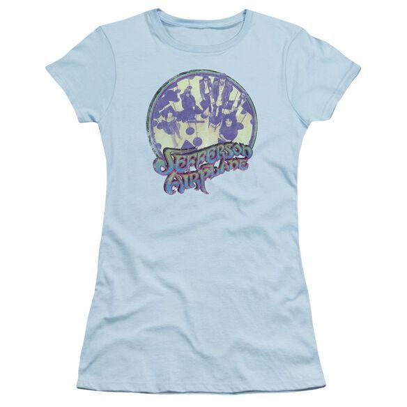 Jefferson Airplane Practice Short Sleeve Junior Sheer Light T-Shirt