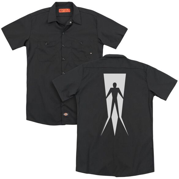 Shadowman Vintage Shadowman(Back Print) Adult Work Shirt