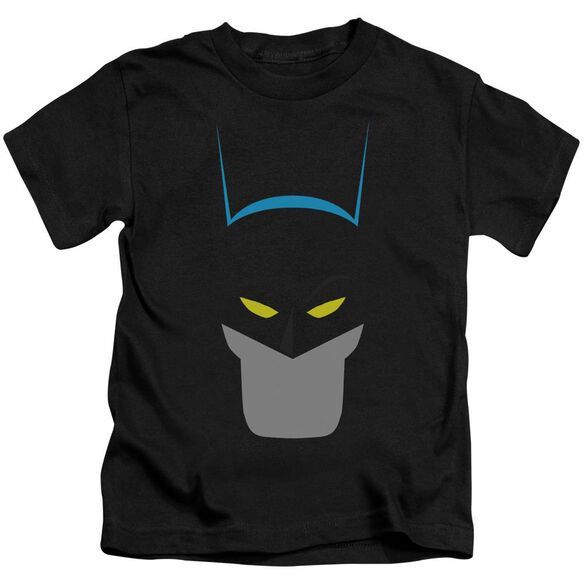 Batman Simplified Short Sleeve Juvenile Black T-Shirt