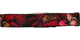 Street Fighter Ken Ryu and Akuma Seatbelt Mesh Belt