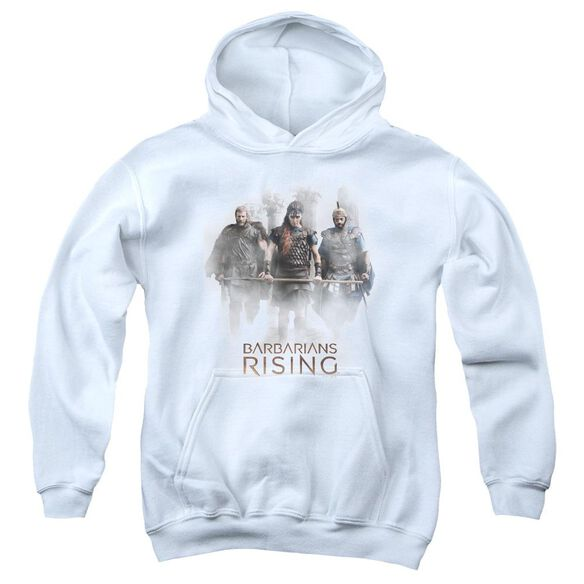 Barbarians Rising Three Barbarians Youth Pull Over Hoodie