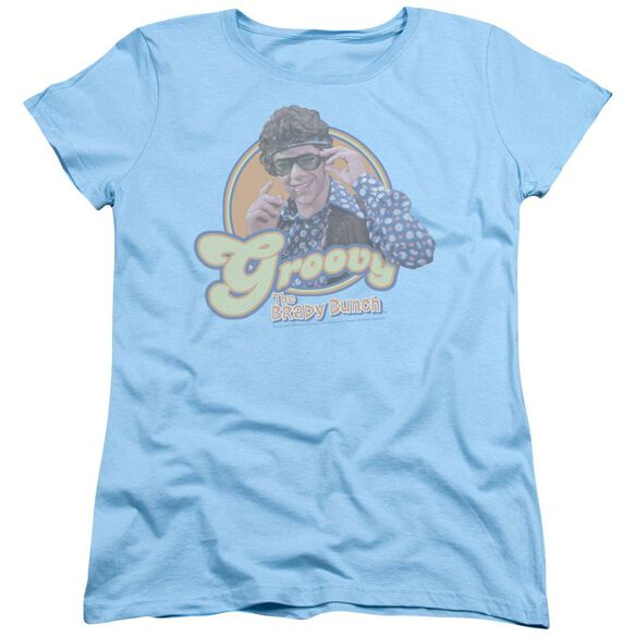 Brady Bunch Groovy Greg Short Sleeve Womens Tee Light T-Shirt