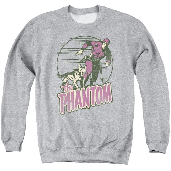 Phantom Phantom And Dog Adult Crewneck Sweatshirt Athletic