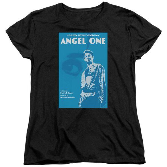 Star Trek Tng Season 1 Episode 14 Short Sleeve Womens Tee T-Shirt