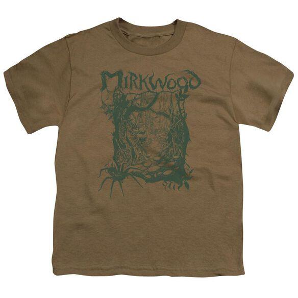 Hobbit Mirkwood Line Short Sleeve Youth Safari T-Shirt