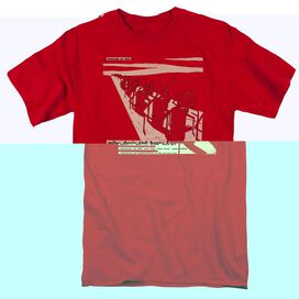MILES DAVIS DAVIS AND HORN - S/S ADULT 18/1 - RED - T-Shirt