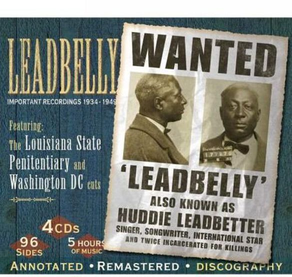 Lead Belly - Important Recordings 1934-1949