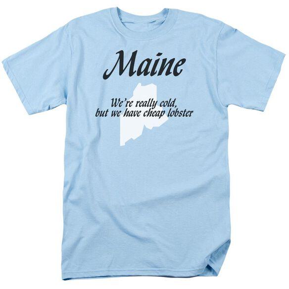 Maine Short Sleeve Adult Light T-Shirt