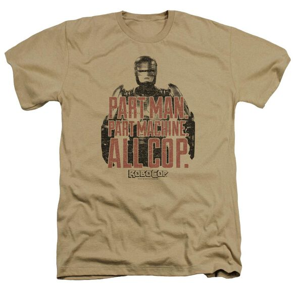 Robocop Vintage Tagline Adult Heather
