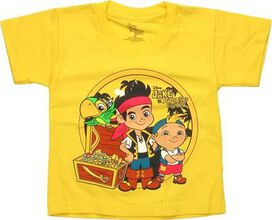 Jake and the Never Land Pirates Treasure Chest Toddler T-Shirt