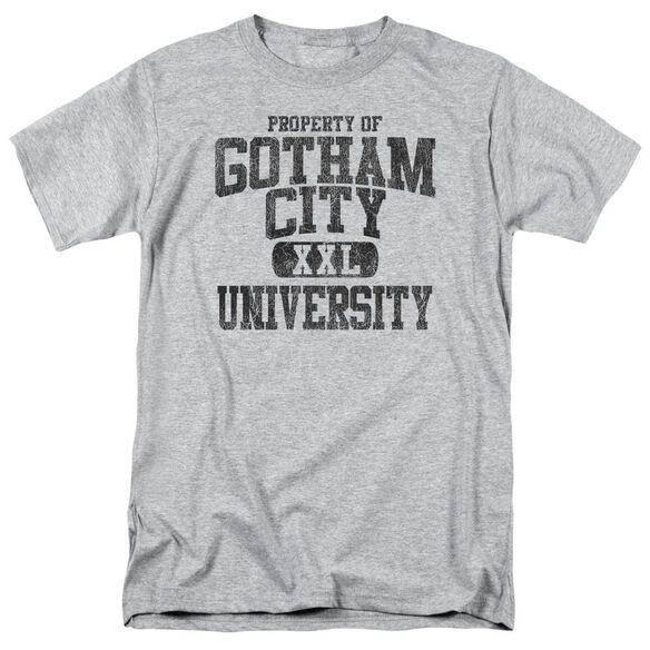 BATMAN PROPERTY OF GCU-S/S ADULT 18/1 - ATHLETIC HEATHER T-Shirt