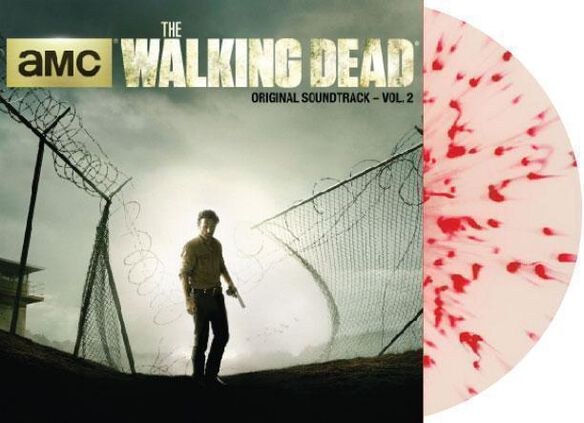 Various Artists - The Walking Dead Vol. 2 Original Soundtrack [Exclusive White with Red Splatter Vinyl]