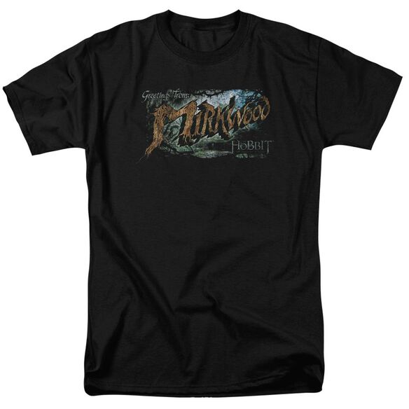 Hobbit Greetings From Mirkwood Short Sleeve Adult T-Shirt