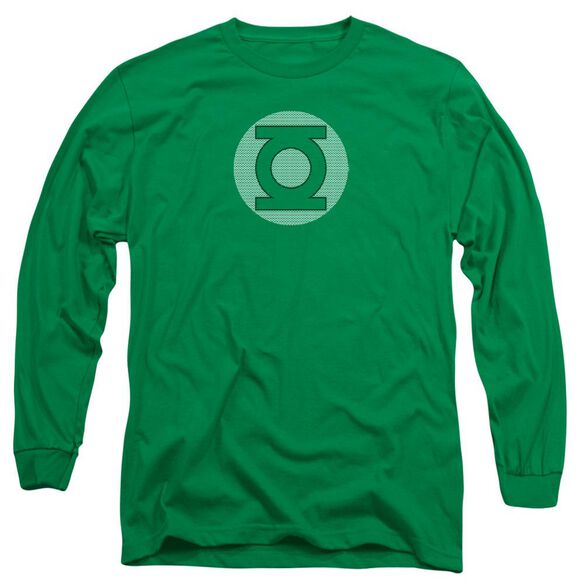 Dc Gl Little Logos Long Sleeve Adult Kelly T-Shirt